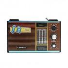 Портативно радио с USB и четец за карти в ретро стил