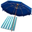 Плажни чадъри и хавлии